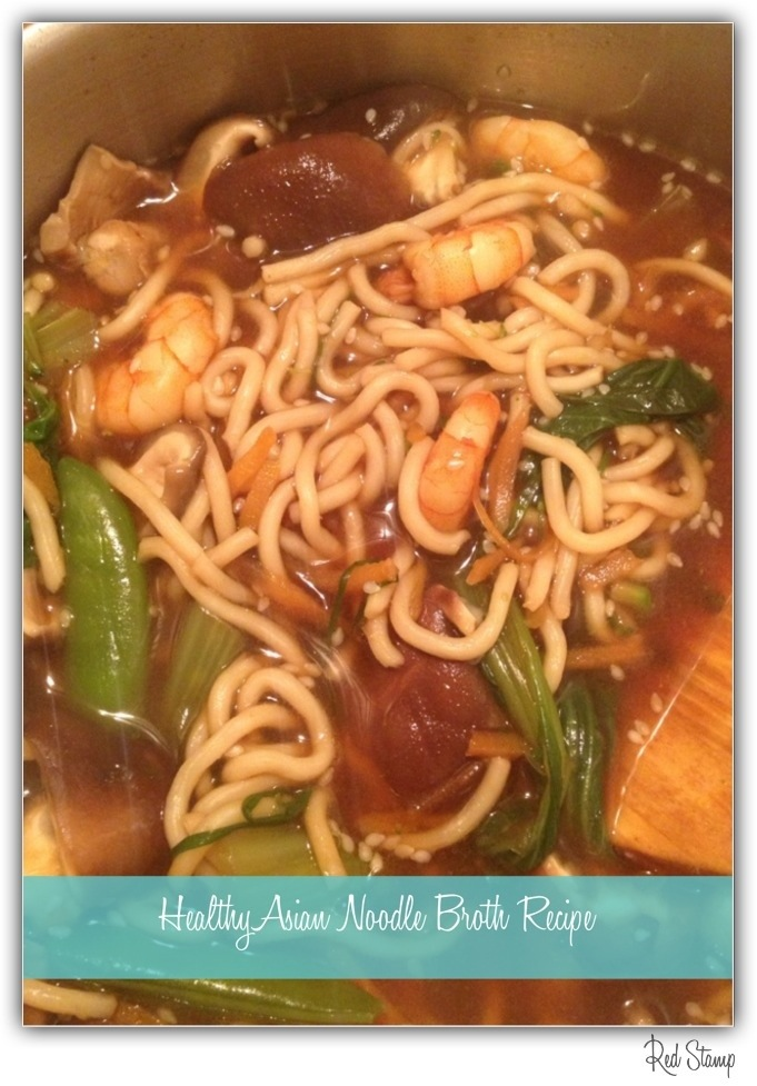 Healthy Asian Noodle Broth