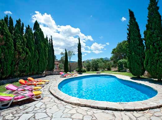 Villa Martorellet, Cala San Vicente, Majorca