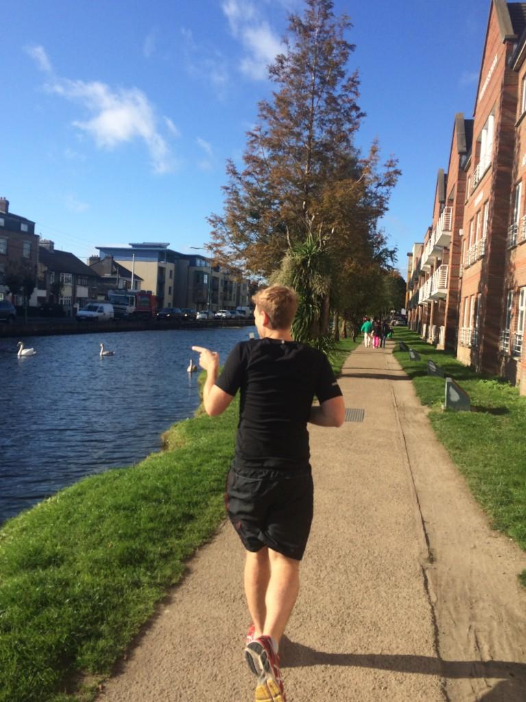 morning jog in dublin