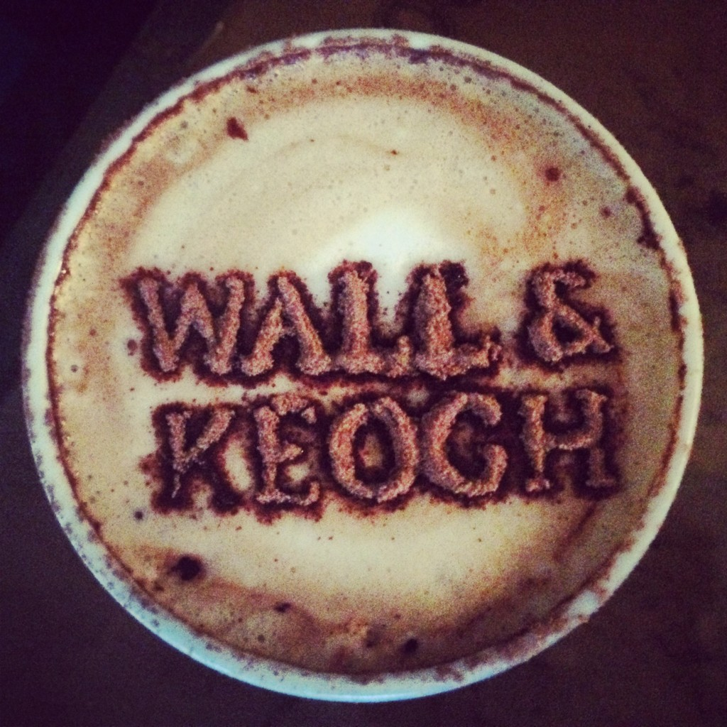 wall & keogh coffee dublin