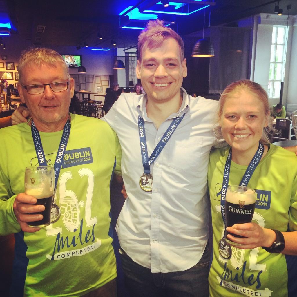 dublin marathon finishers