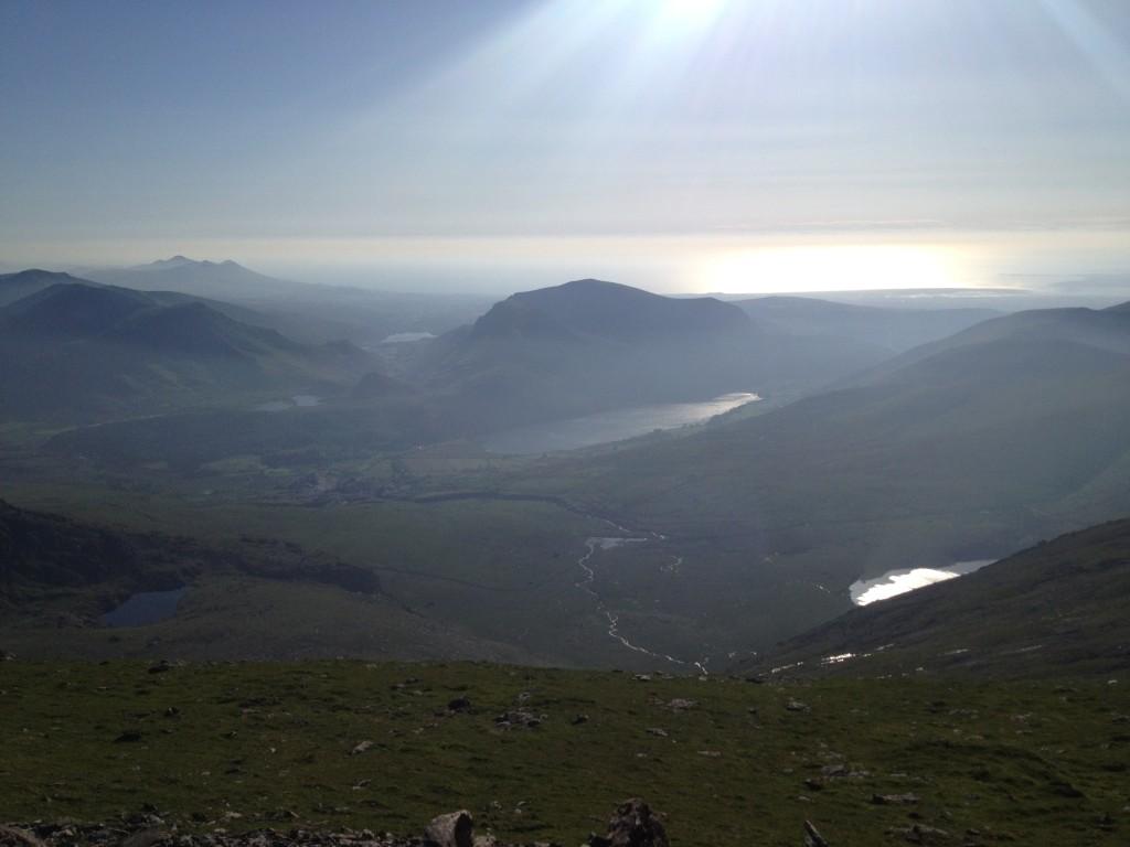3 peaks challenge scenery