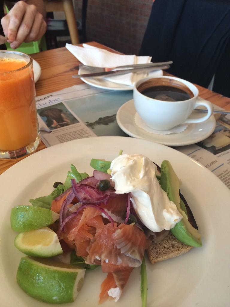 brunch Olympia cafe and deli kalk bay