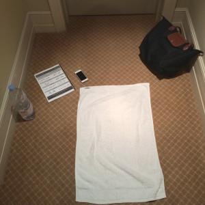 Kayla Hotel workout