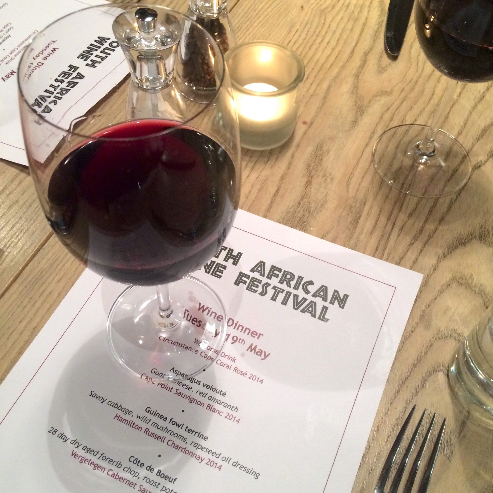South African Wine Festival at Vivat Bacchus