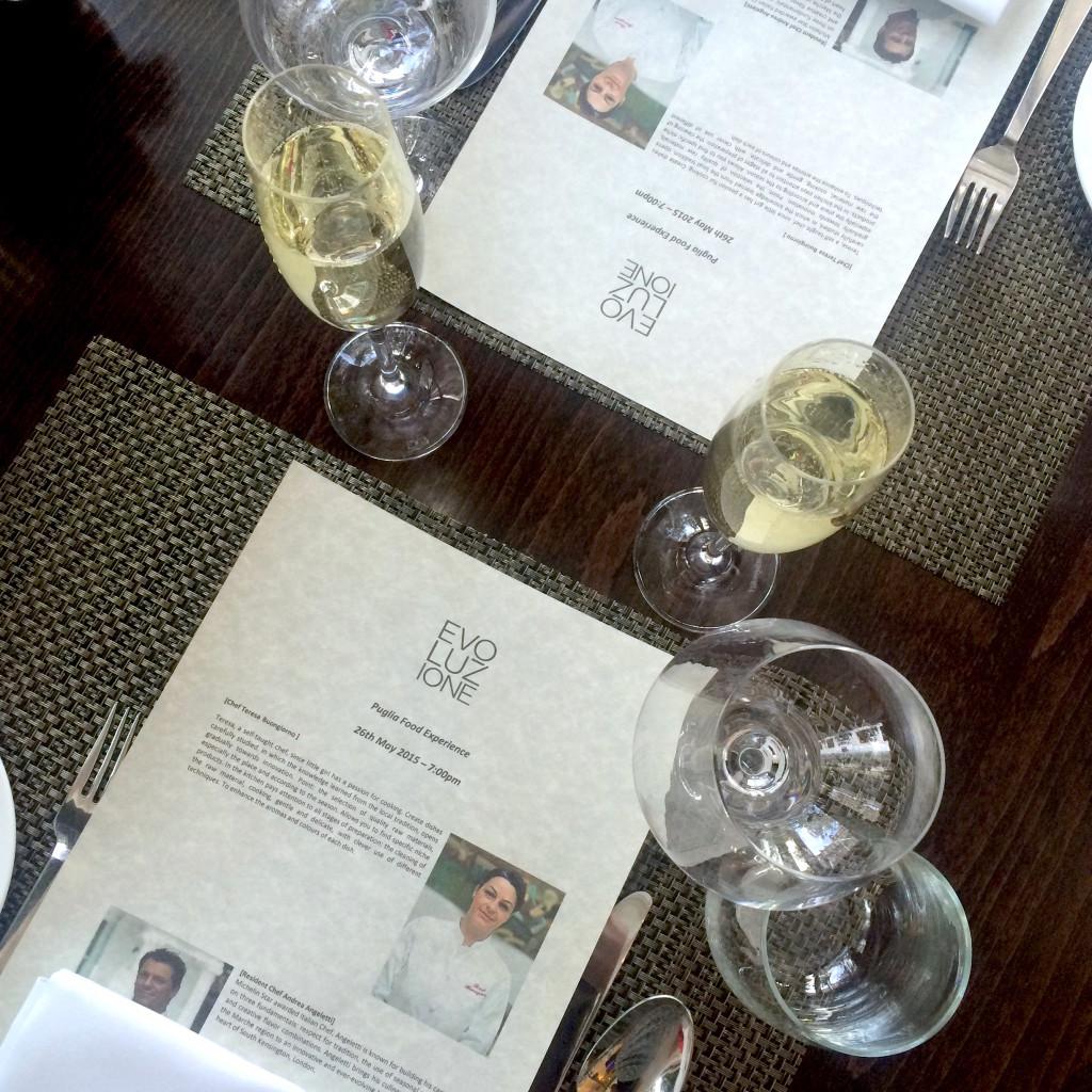 Table Evoluzione Hotel Xenia Guest Chef Series