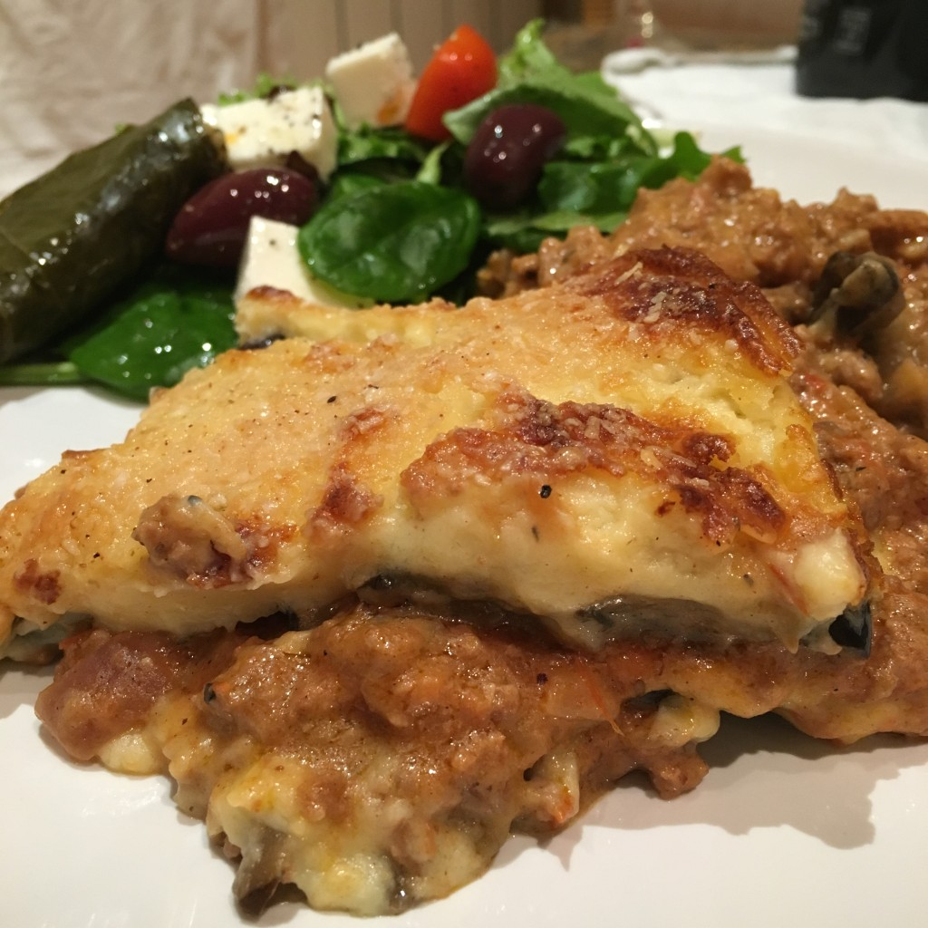 Completed Moussaka Recipe