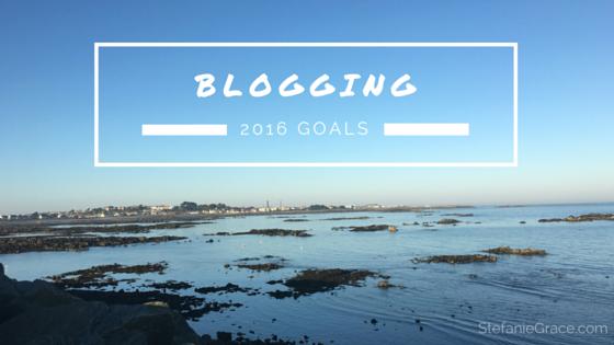 BLOGGING 2016 Goals