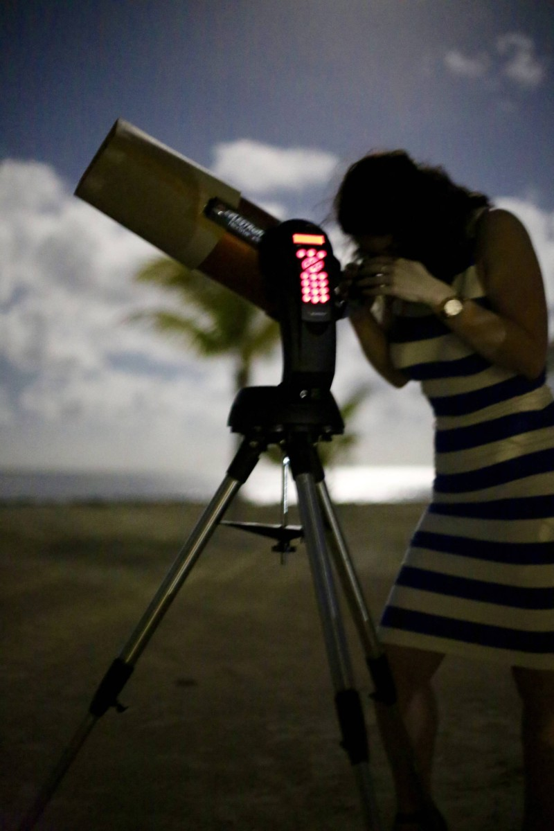 Stargazing Mauritius Radisson Blu Azuri Resort & Spa