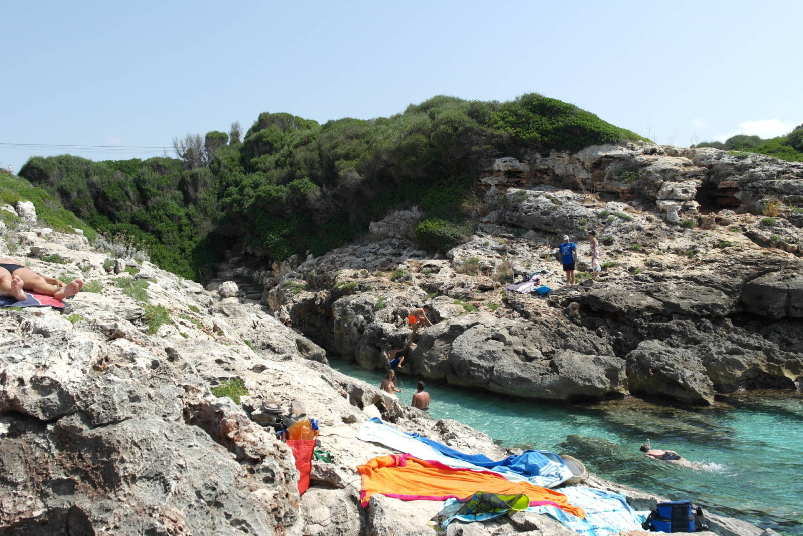 Es Cala Blanca, Menorca