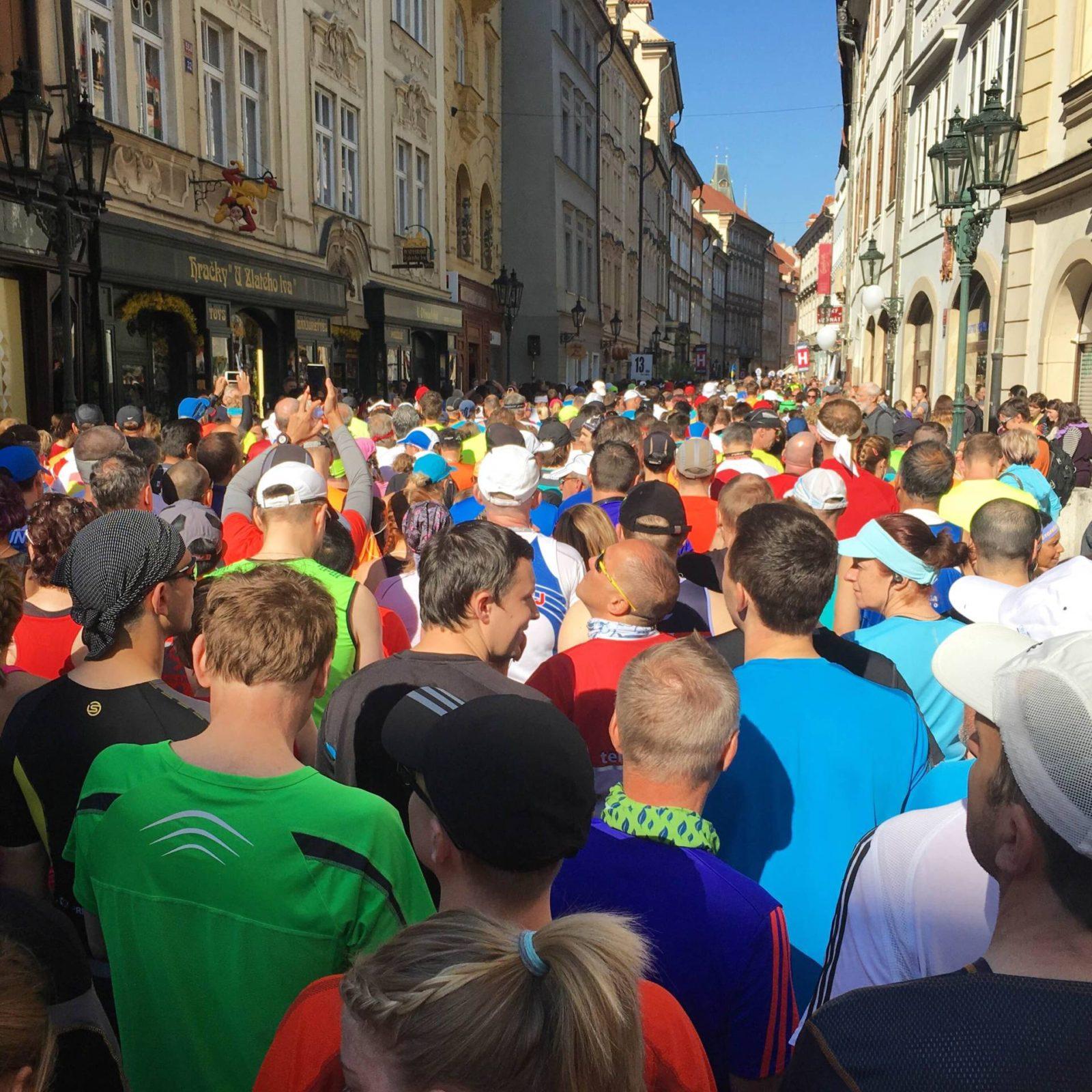 prague marathon diary