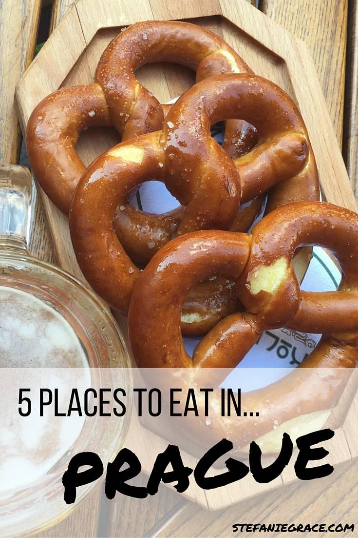 5 Places to Eat in Prague - StefanieGrace.com