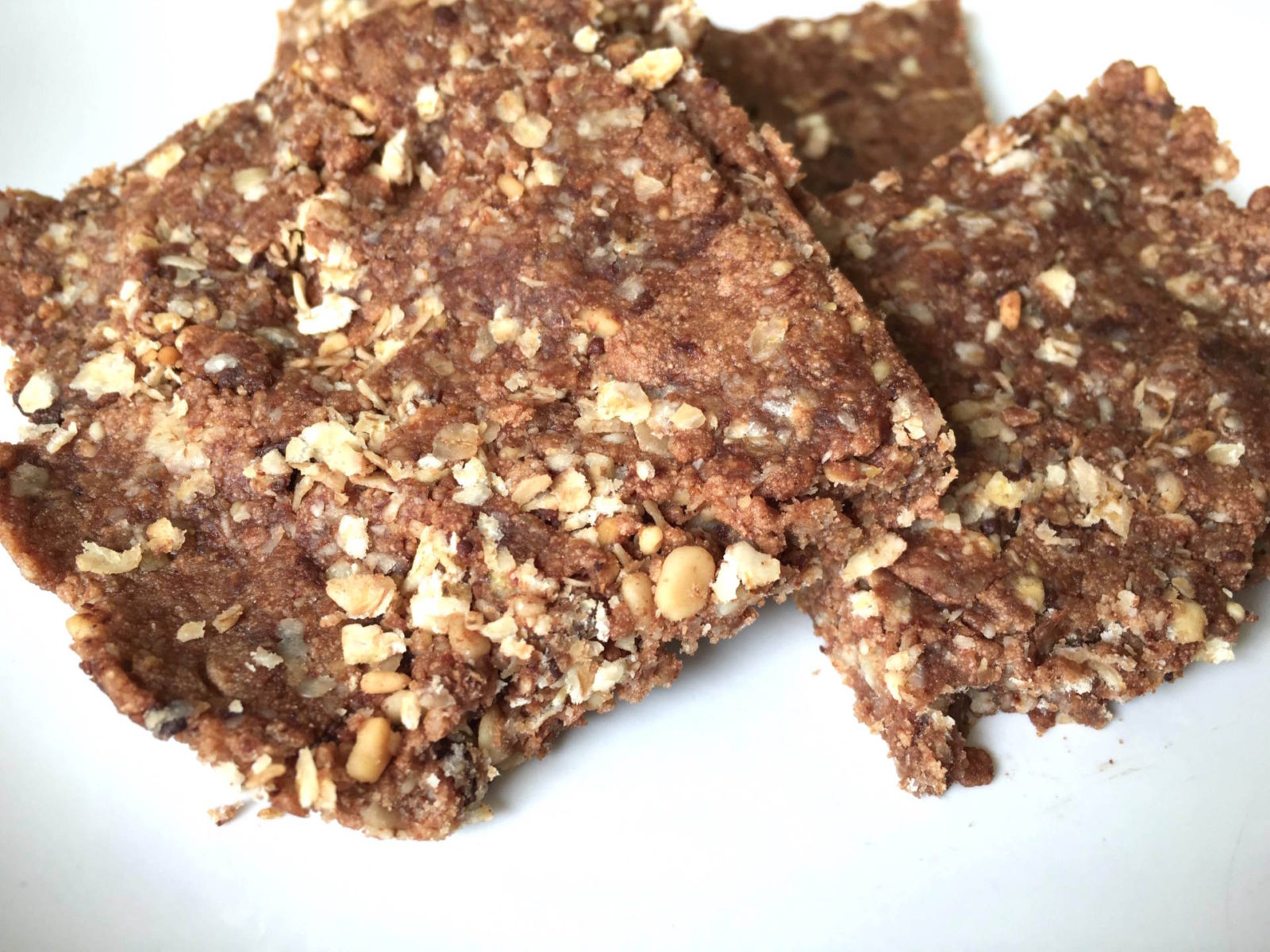 Chocolate Protein Flapjacks Recipe - StefanieGrace.com