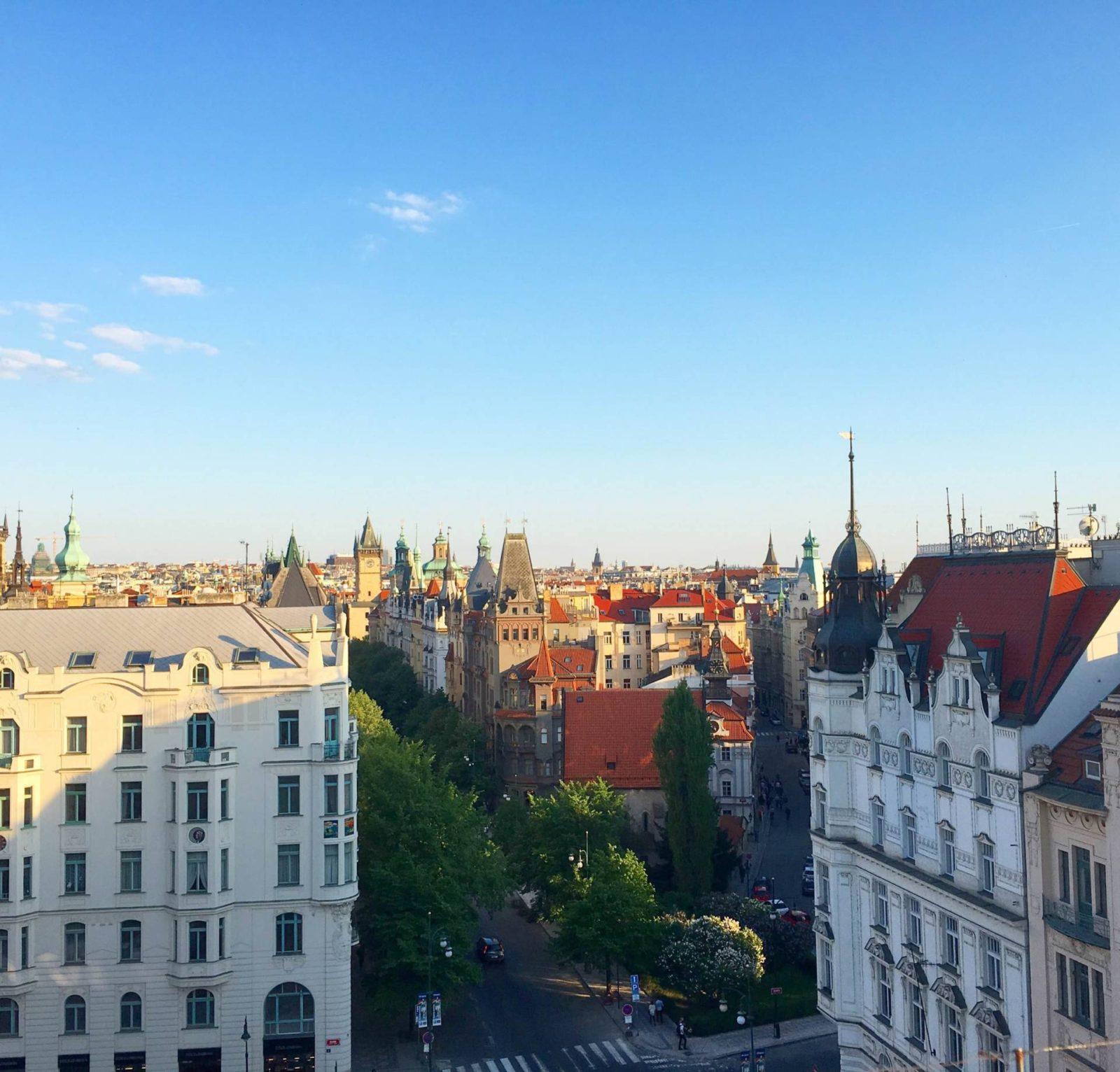 Intercontinental Hotel Prague Views - StefanieGrace.com