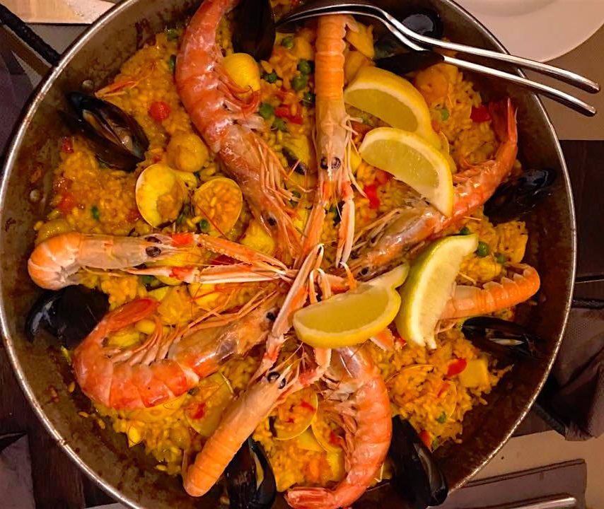 Paella - Places to Eat in Barcelona - StefanieGrace.com
