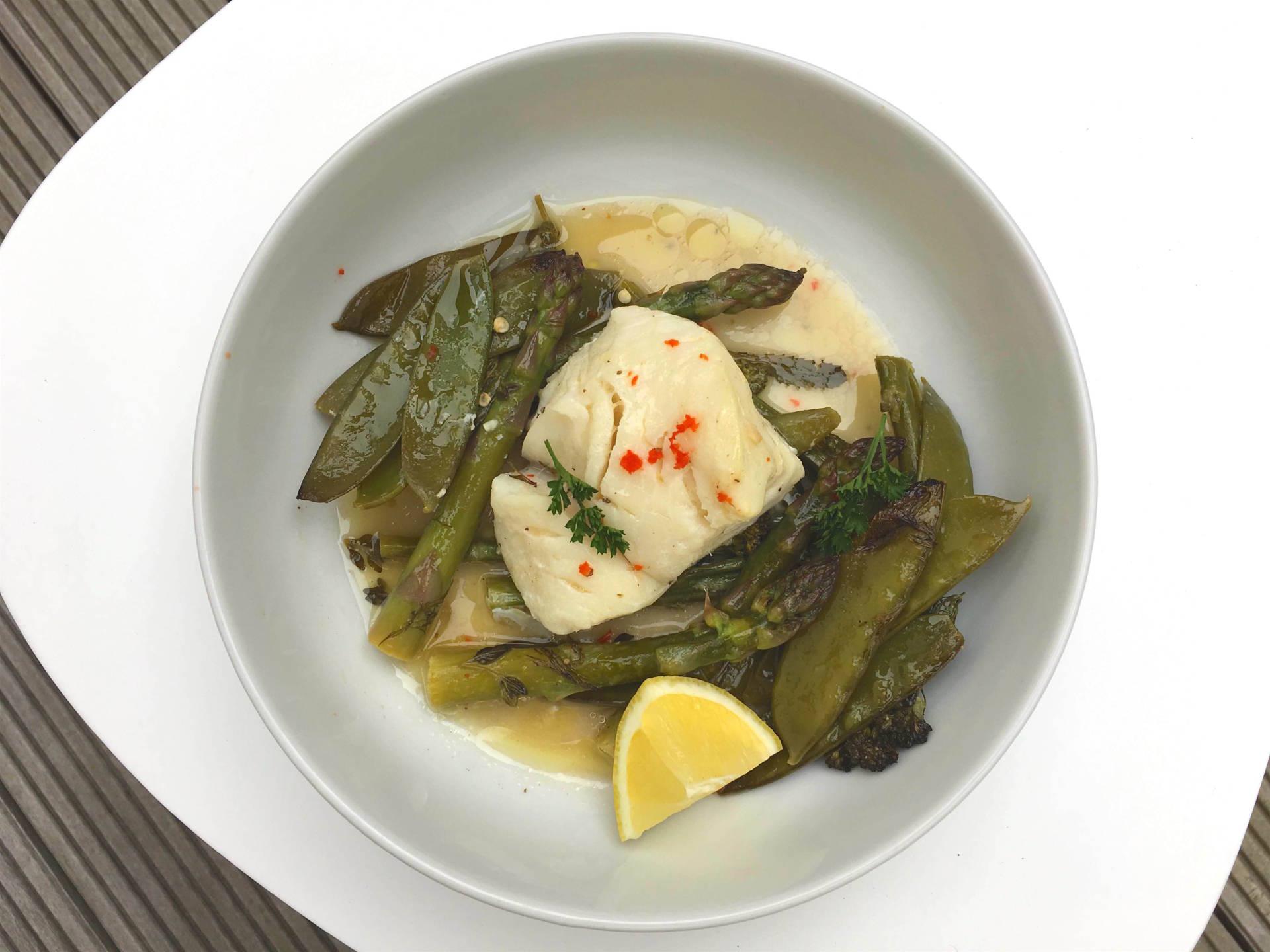 Stefanie Grace Healthy Cod Parcel Recipe