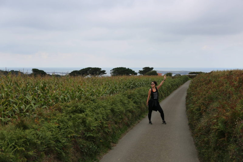 weekly workout diary hiking guernsey