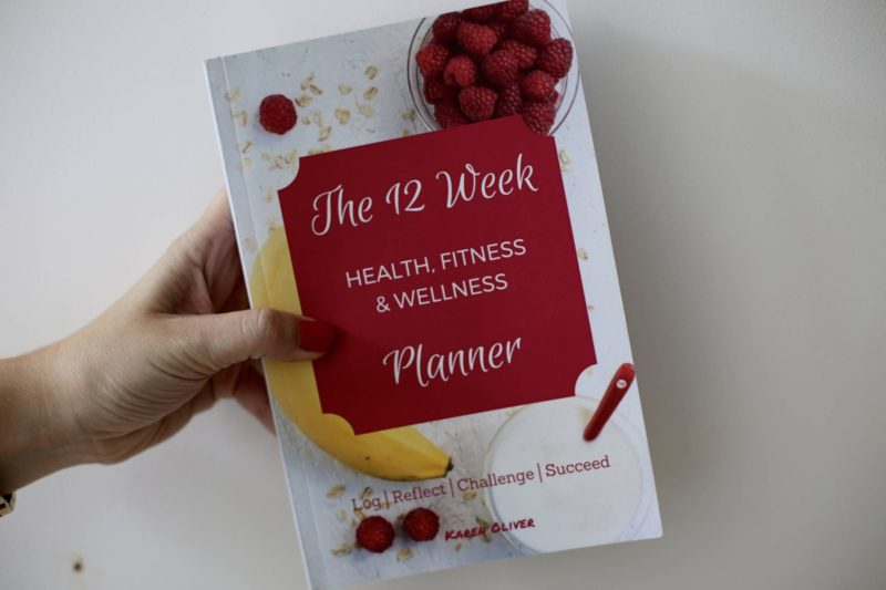 Health, fitness & wellness planner review
