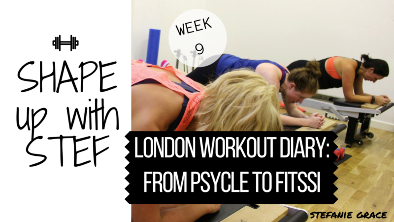 london workout diary vlog - StefanieGrace.com