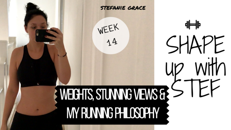 Week 14 SHAPE up with STEF