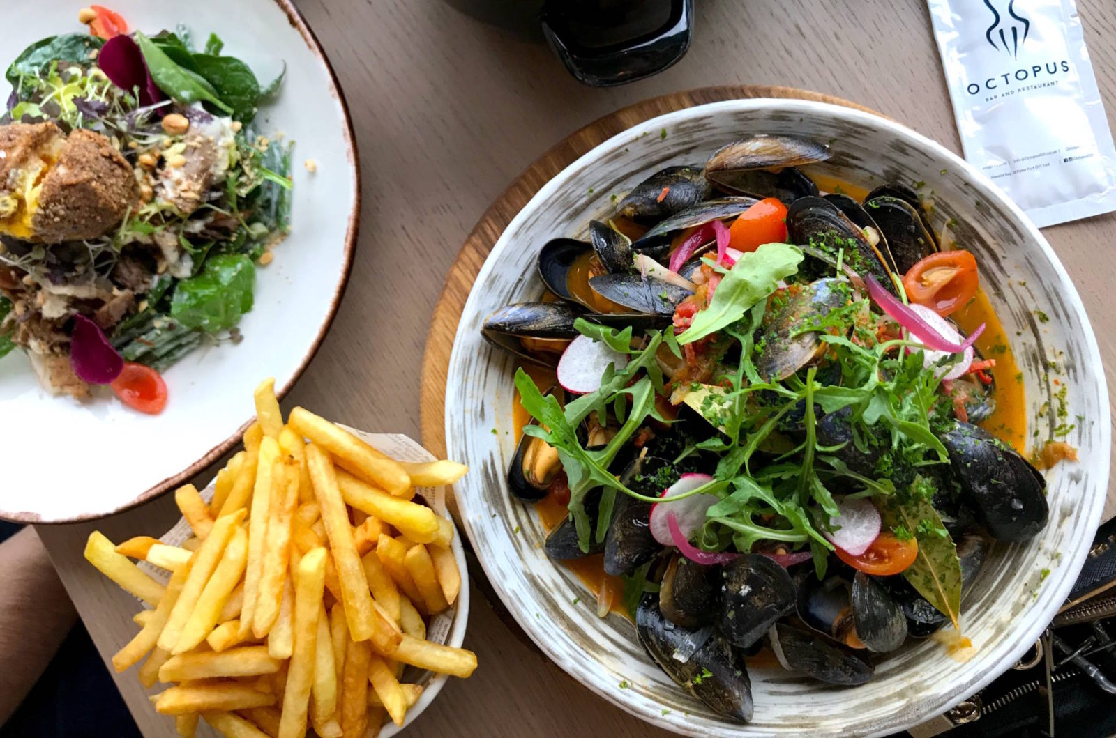 5 Places to Eat in Guernsey - Octopus