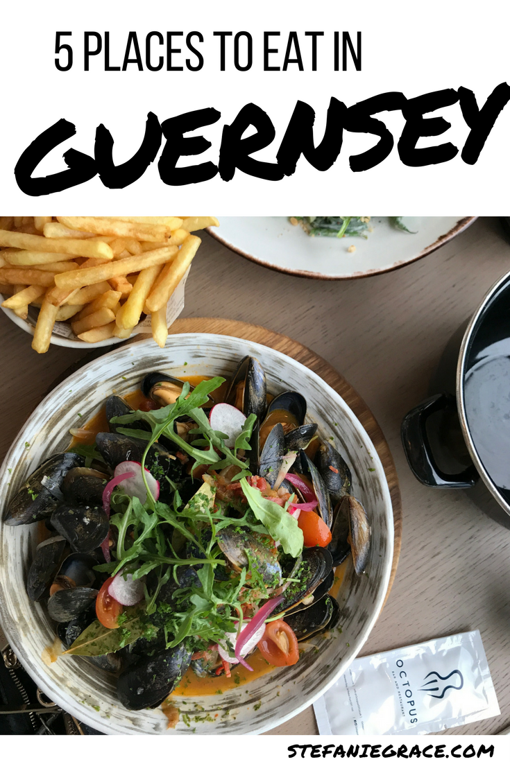 5 Places to Eat in Guernsey - StefanieGrace.com