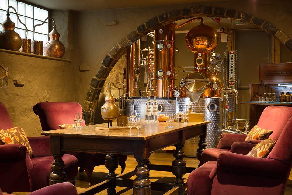 gin distillery Guernsey