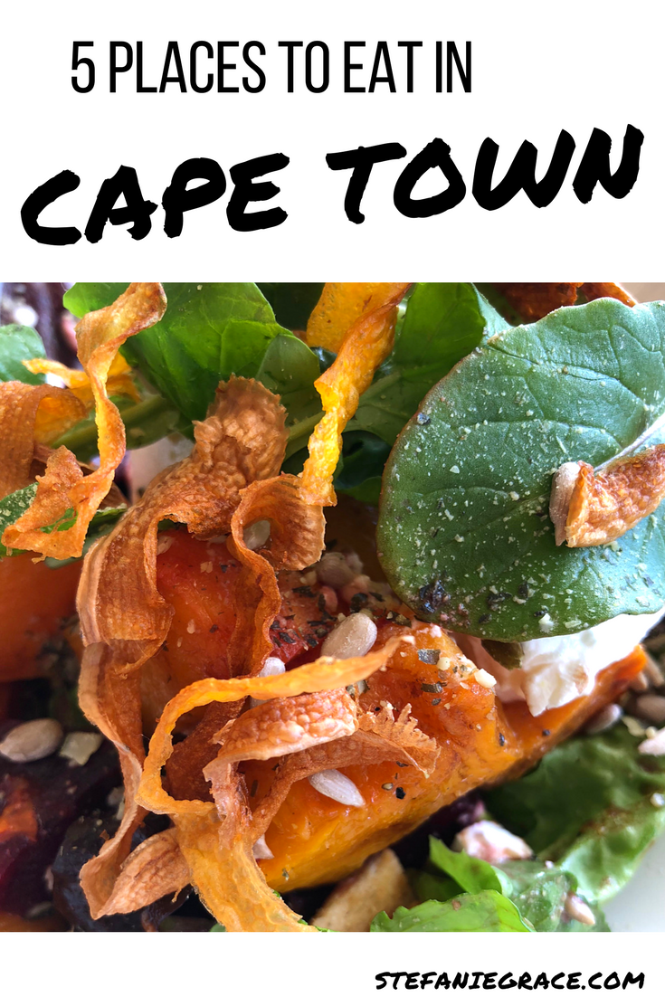 5 Places to Eat in Cape Town - StefanieGrace.com