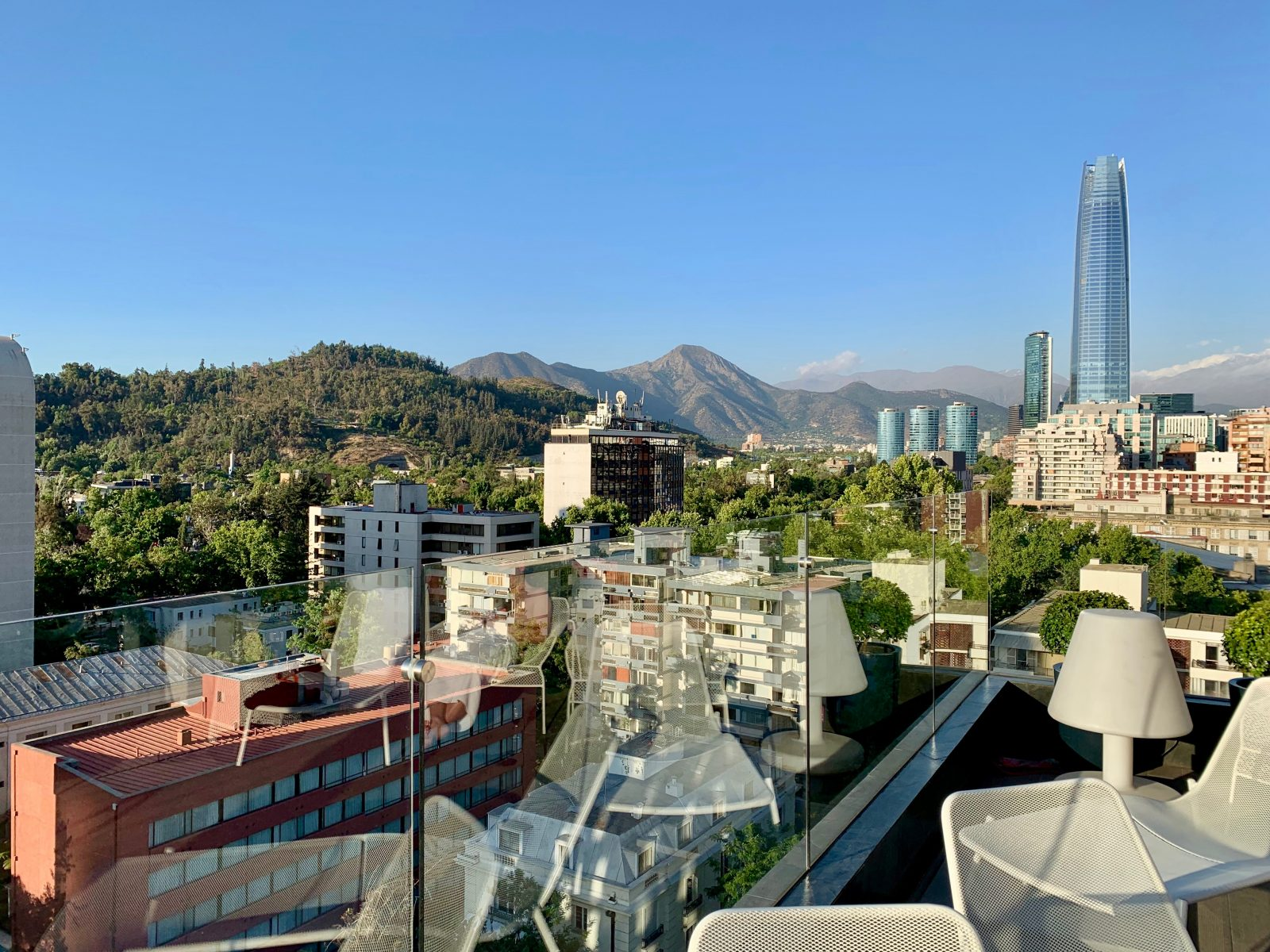 Views from Hotel Solace Santiago, Chile - StefanieGrace.com